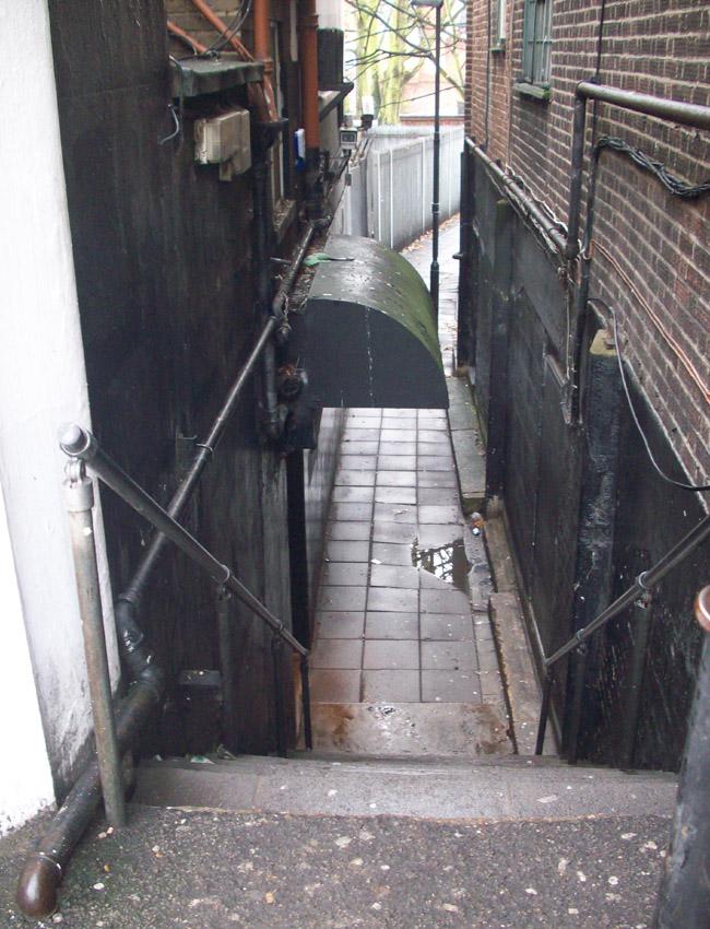 Site of the Ealing Jazz Club, photo taken December, 2010