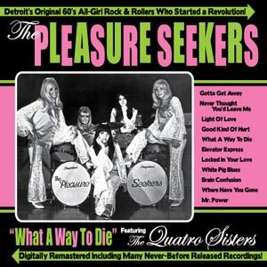 The Pleasure Seekers – What a Way to Die (CD) | Garage Hangover