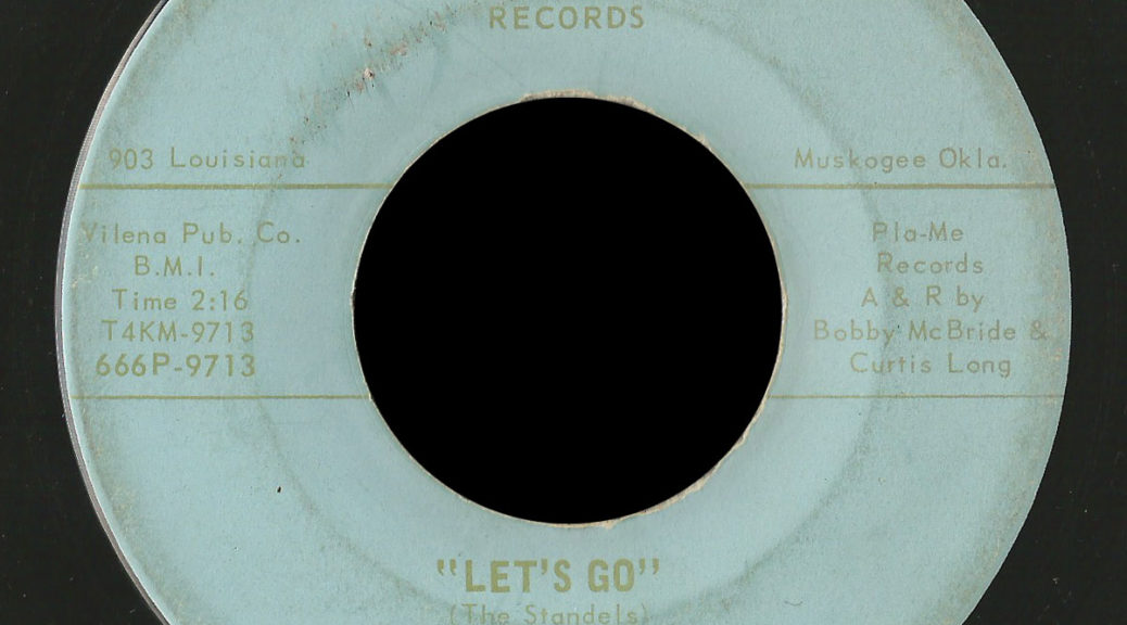 The Standels on Pla-Me Records of Muskogee | Garage Hangover