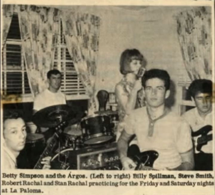 Betty Simpson and the Argos news clipping