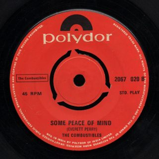 Combustibles Polydor 45 Some Peace of Mind