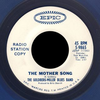 Goldberg-Miller Blues Band 45 The Mother Song