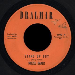 Mitzee Baker Dralmar 45 Stand Up Boy