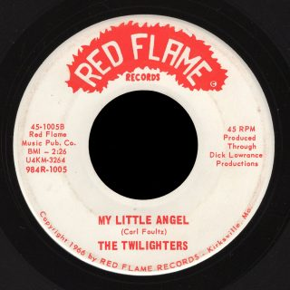 Twilighters Red Flame 45 My Little Angel