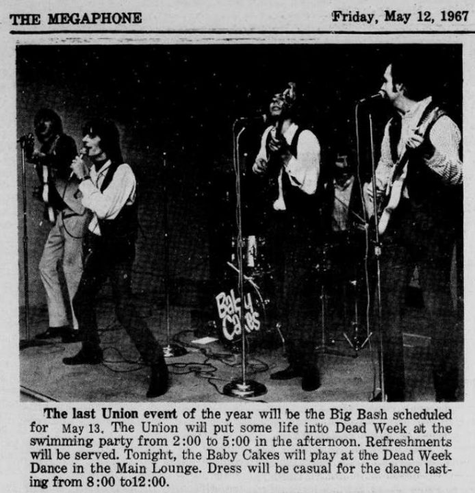 Baby Cakes Georgetown Megaphone, May 12, 1967