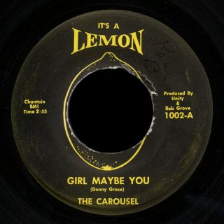 Carousel It's a Lemon 45 Girl Maybe You