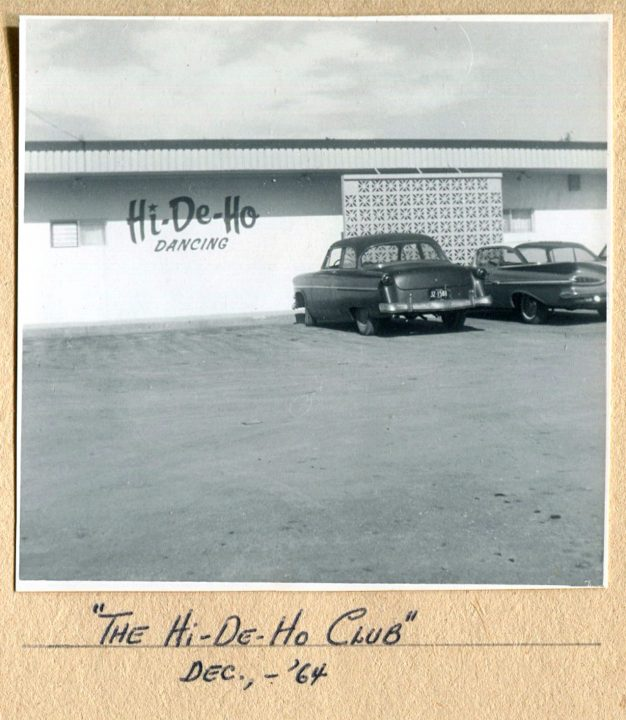 Hi-De-Ho Club, December, 1964
