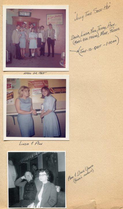 Motovators at Jolly Time Sock Hop, April 24, 1965