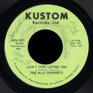 Wild Prophets Kustom 45 Can't Stop Loving You