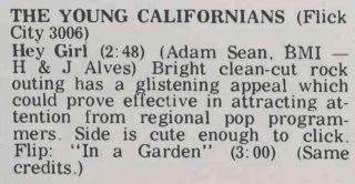 Young Californians Cash Box Feb. 22, 1969