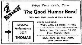 Good Humor Band Pusi-Kat San-Antonio-Express-And-News, Jan 19, 1969