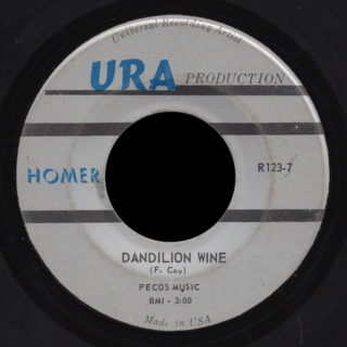 Homer URA 45 Dandelion Wine