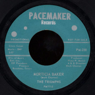 Triumphs Pacemaker 45 Morticia Baker