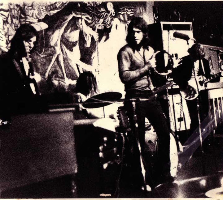 Benny, Cecil and the Snakes on stage