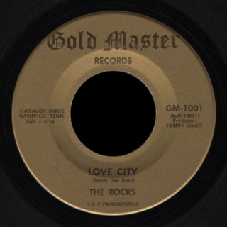 Rocks Gold Master 45 Love City